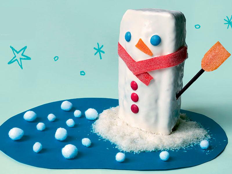 receta de muñeco de nieve