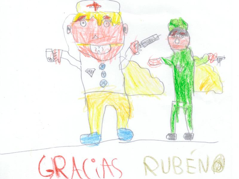 Rubén, 6 años
