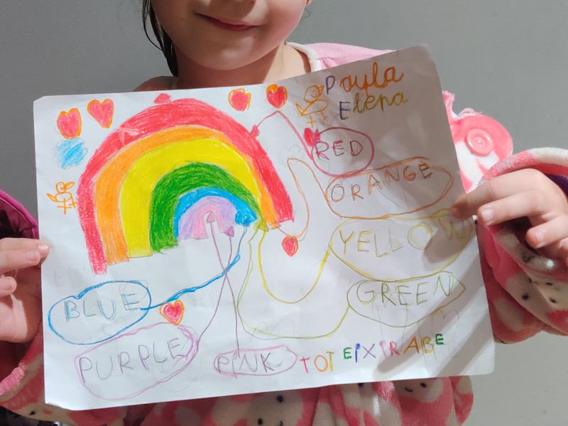 Paula, 5 años