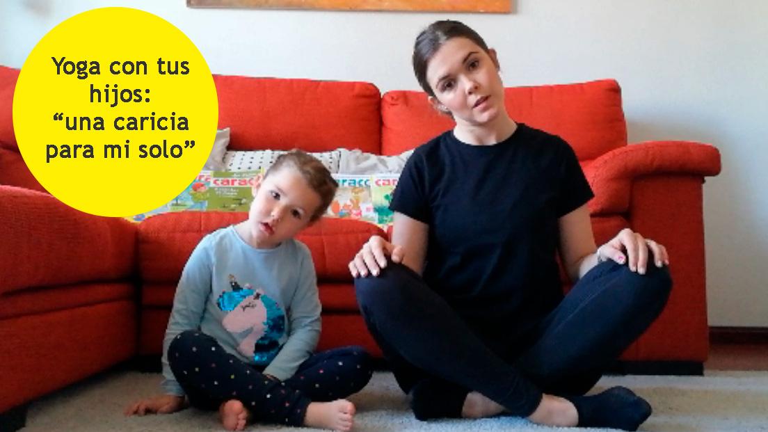 Yoga entre padres e hijos