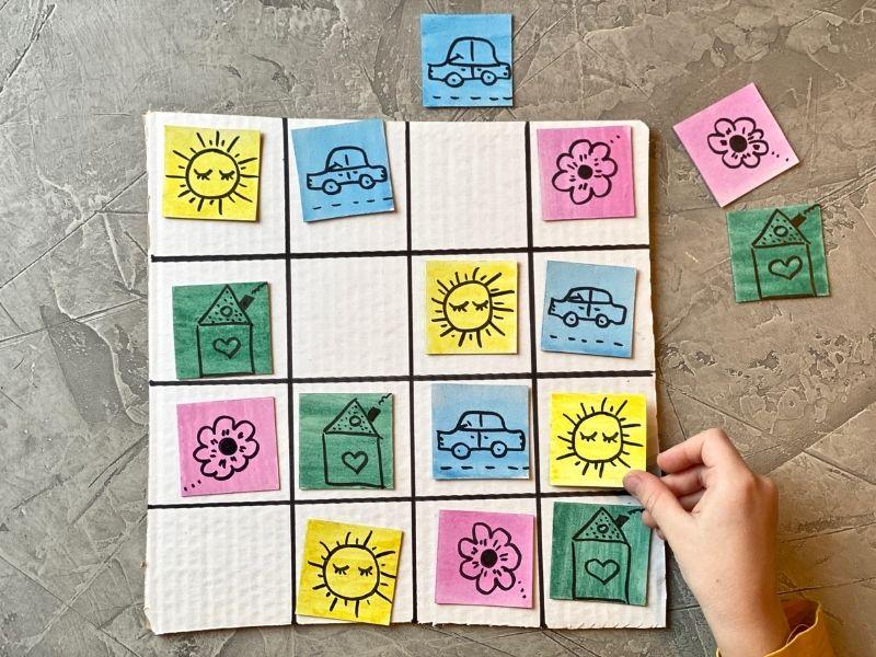 Sudokus para niños con figuras