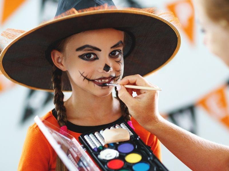 Ideas de maquillaje de halloween para niños muy fáciles