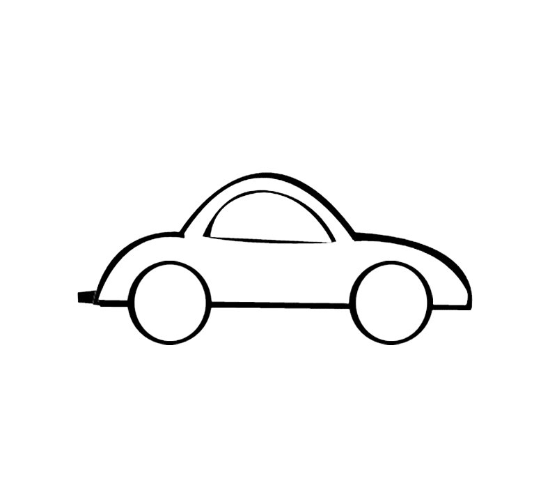 Coche deportivo dibujos para colorear - Empapelar coche para pintar ...