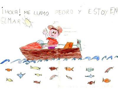 Pedro Plasencia Montilla. En el mar