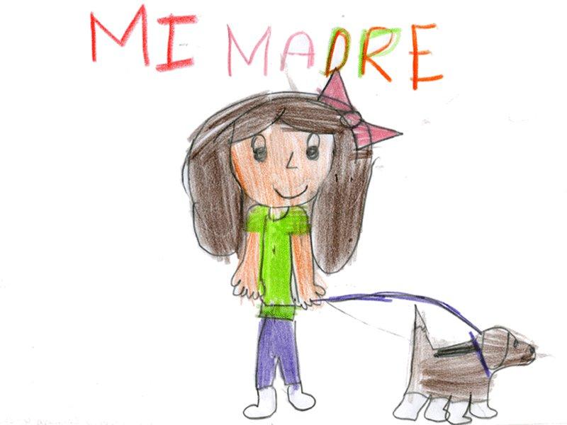 Clara González Pellejero, 7 años