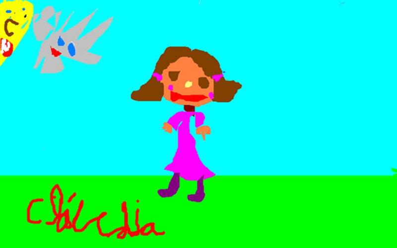 Claudia Rodriguez Pedrerol, 5 años