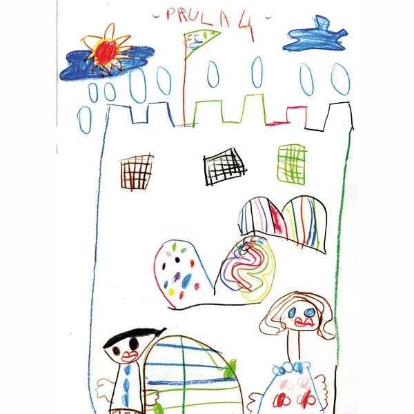 Paula, 4 años