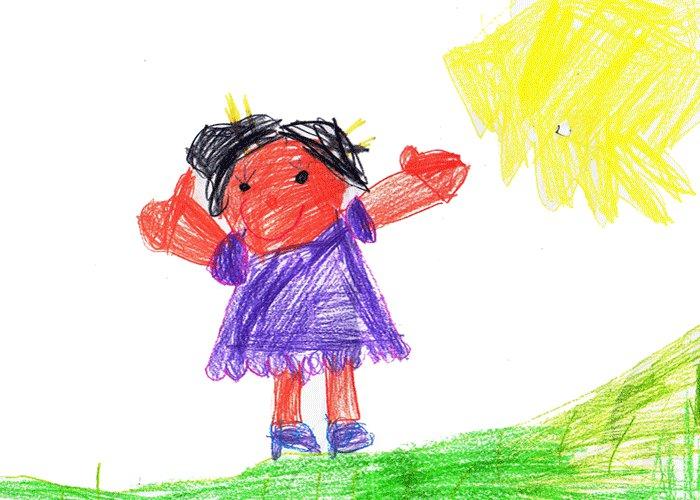 Sabela López Hernández, 6 años