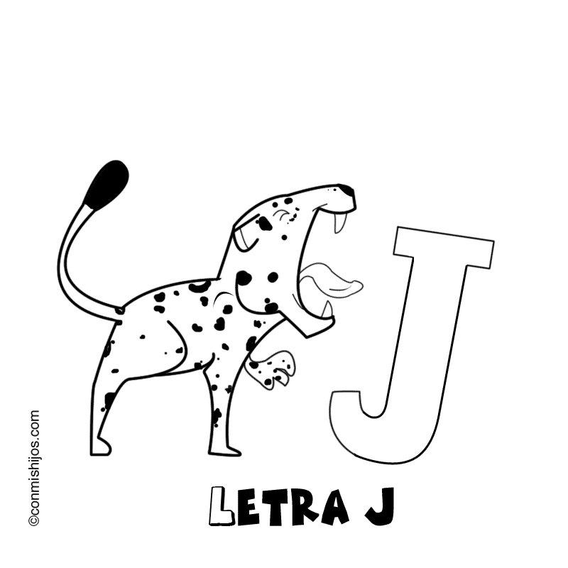 Letra J