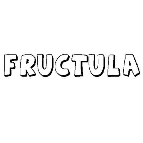 FRÚCTULA