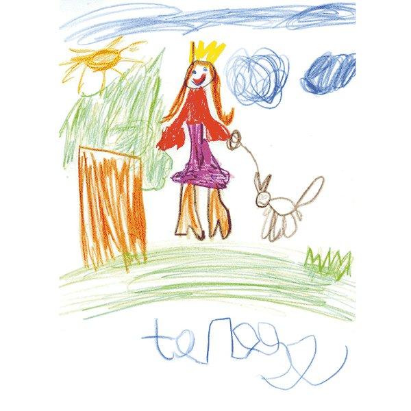 Teresa Allen Ruiz, 5 años