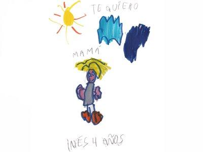 Inés González Martín, 4 años