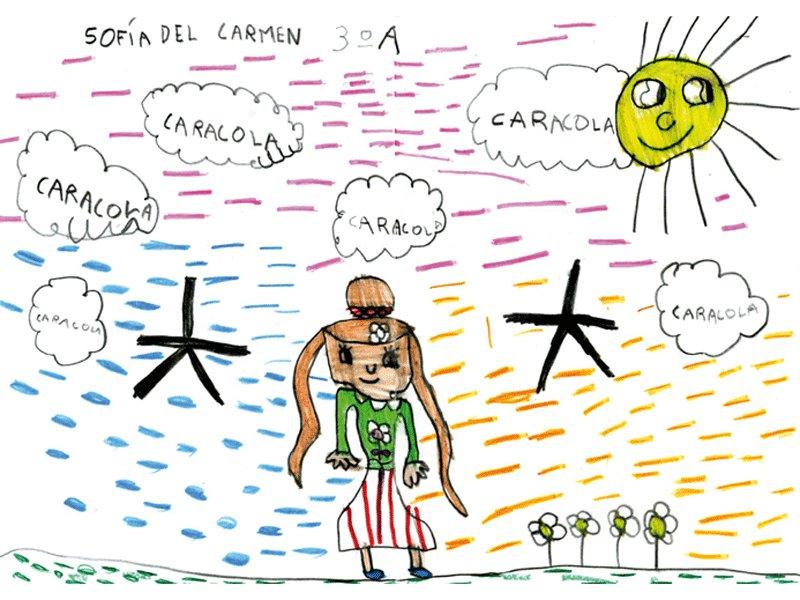 Sofía del Carmen Blanco Parrondo, 5 años