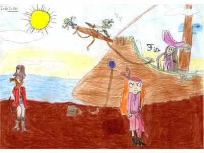 Inés, 8 años