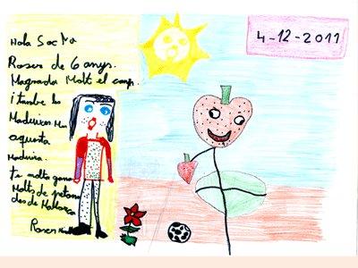 Roser Millares Iturras, 6 años