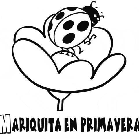 Dibujos De Mariquitas Infantiles - Decoración Del Hogar - Prosalo.com