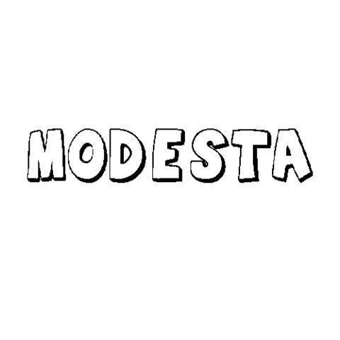 MODESTA