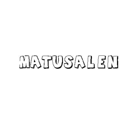 MATUSALÉN
