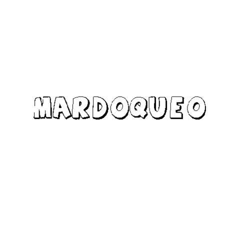 MARDOQUEO