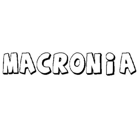 MACRONIA