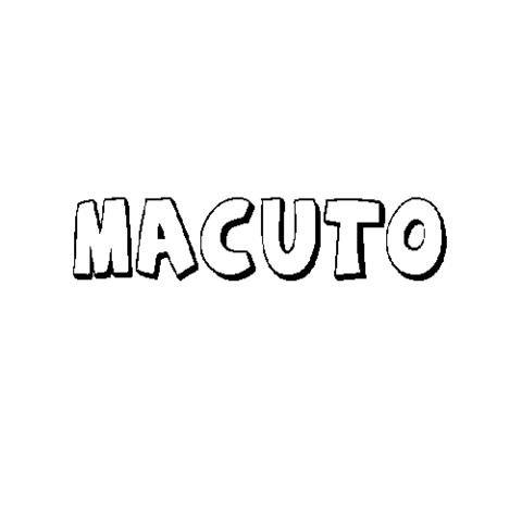 MACUTO