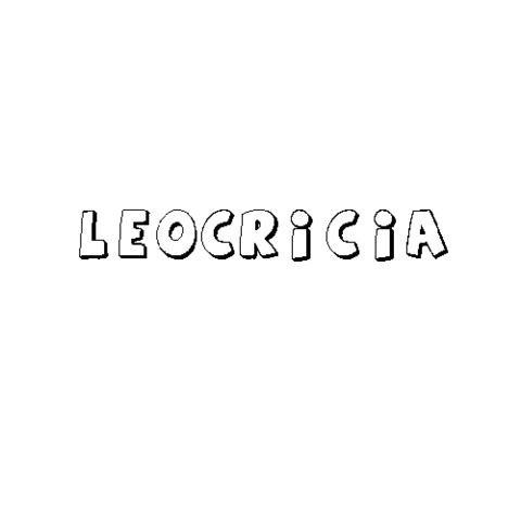 LEOCRICIA