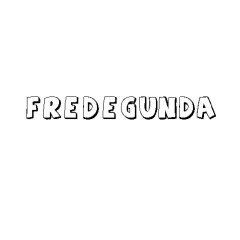 FREDEGUNDA