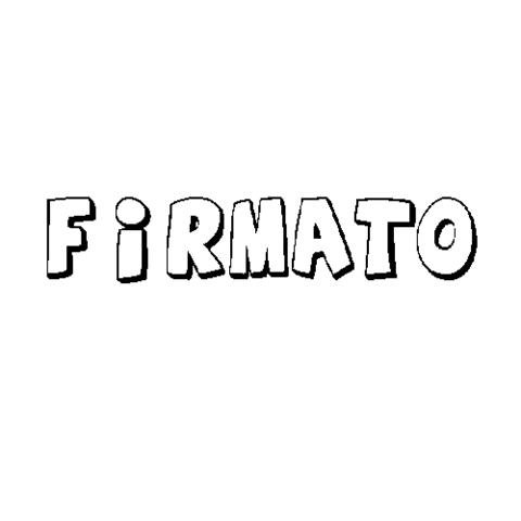 FIRMATO