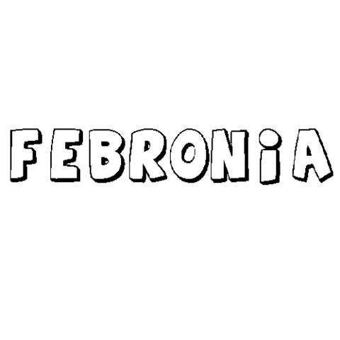 FEBRONIA