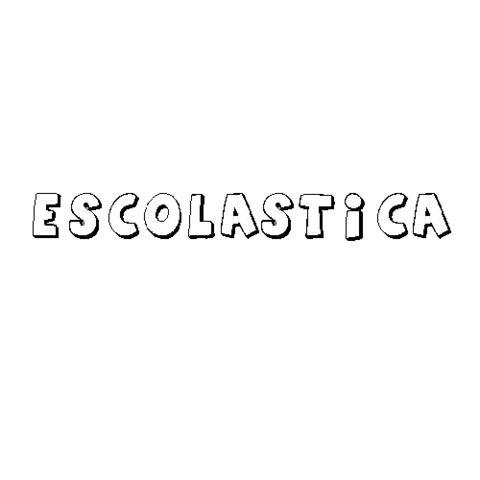 ESCOLÁSTICA