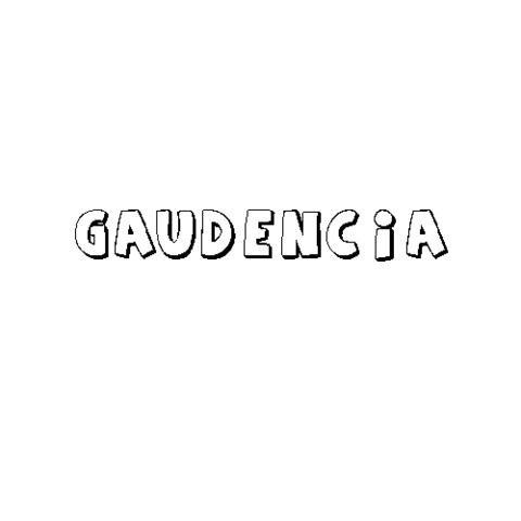 GAUDENCIA