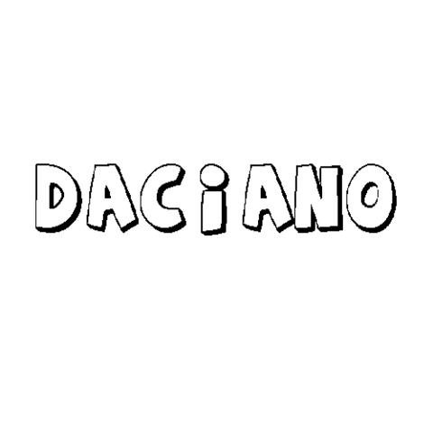 DACIANO