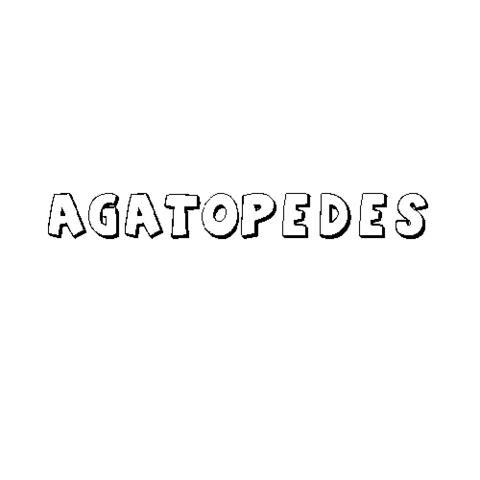 AGATÓPEDES