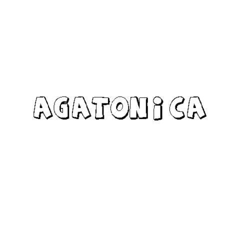 AGATÓNICA
