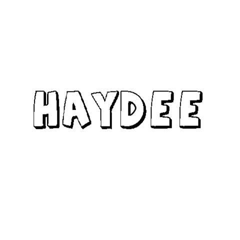 HAYDÉE