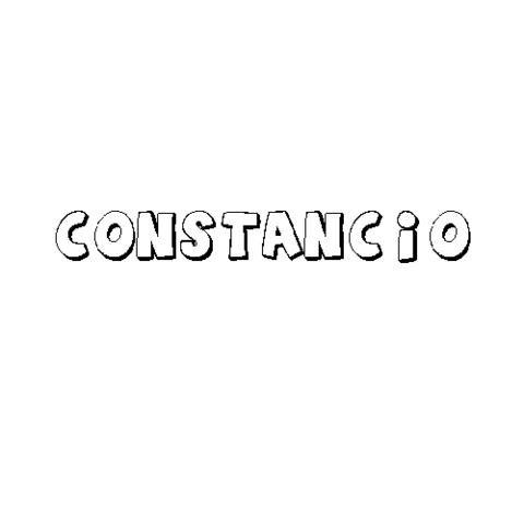 CONSTANCIO