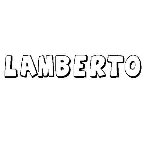 LAMBERTO