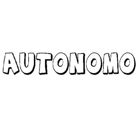 AUTÓNOMO