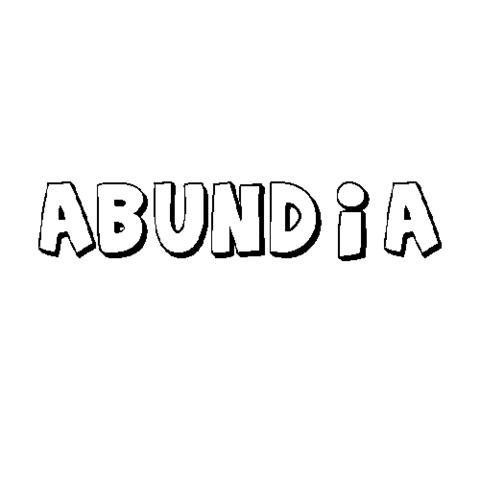 ABUNDIA