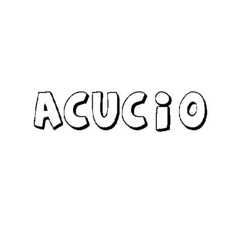 ACUCIO