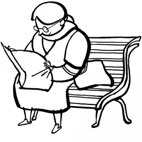 Señora leyendo