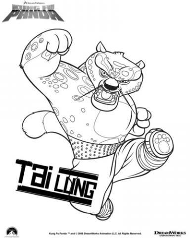Dorable Kung Fu Panda Para Colorear Inspiración - Ideas Para ...
