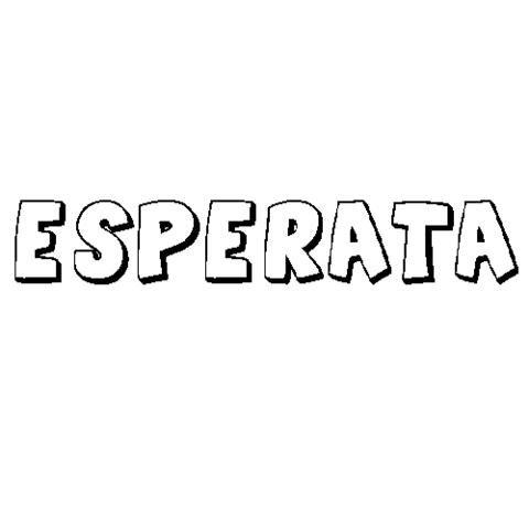 ESPERATA