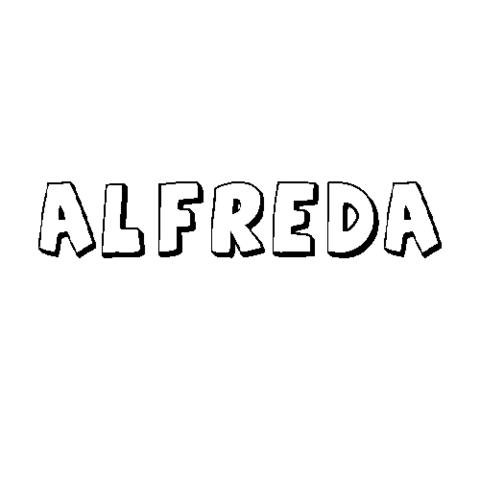 ALFREDA