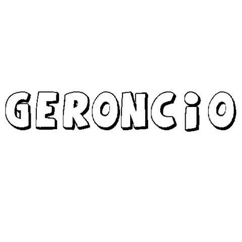 GERONCIO