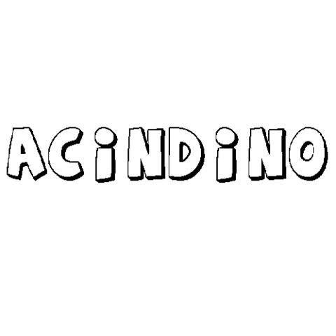 ACÍNDINO