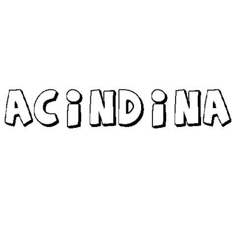ACÍNDINA