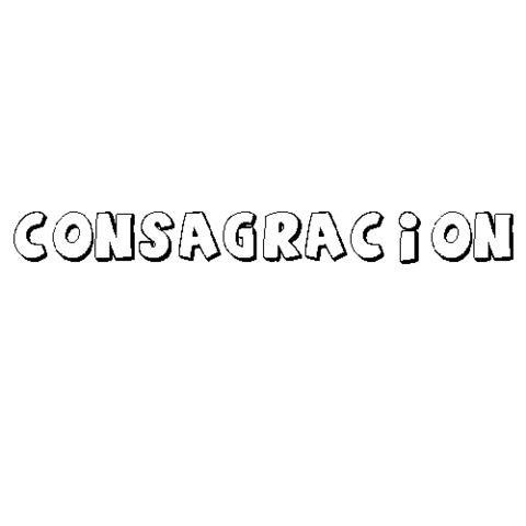 CONSAGRACIÓN