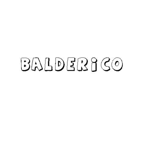 BALDERICO