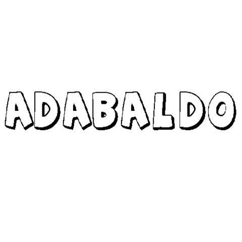ADABALDO